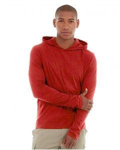 Teton Pullover Hoodie-M-Red