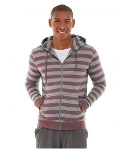 Ajax Full-Zip Sweatshirt -M-Red