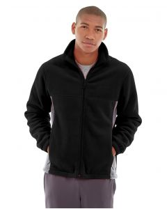 Orion Two-Tone Fitted Jacket-M-Black