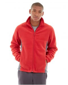 Orion Two-Tone Fitted Jacket-XL-Red