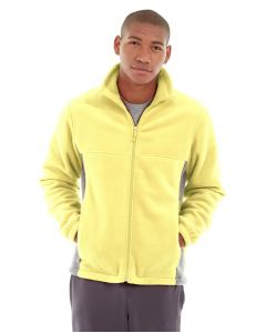 Orion Two-Tone Fitted Jacket-S-Yellow