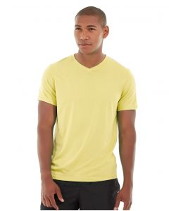Atomic Endurance Running Tee (V-neck)-S-Yellow