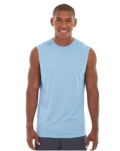 Rocco Gym Tank-L-Blue