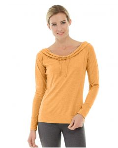 Mona Pullover Hoodlie-M-Orange