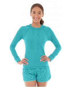 Hera Pullover Hoodie-M-Blue