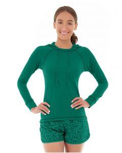 Hera Pullover Hoodie-M-Green