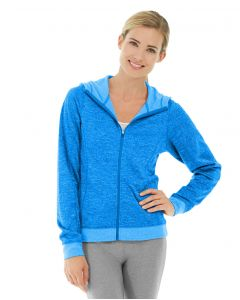 Helena Hooded Fleece-S-Blue