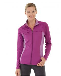 Inez Full Zip Jacket-S-Purple