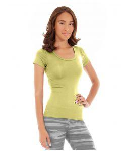 Desiree Fitness Tee-XS-Yellow