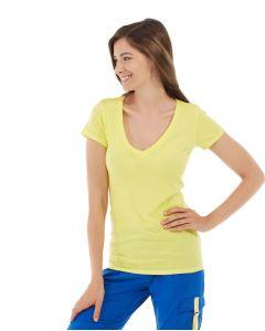 Diva Gym Tee-XS-Yellow